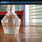 Leere Nagellack-Glasflasche für persönliche Sorgfalt