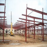 공장 가이아나에 있는 건축 강철 구조물 작업장