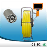 CCTV impermeable Inspection Camera, 50m m Self Leveling Camera, 120m/400foot Cable, Meter/Foot Counter de Sewer Pipeline