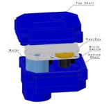 Bidirektionale /Three-Methoden motorisiertes Messingkugelventil