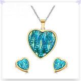 De Reeks van de Juwelen van de Manier van de Juwelen van het Roestvrij staal van de Juwelen van het kristal (JS0131)