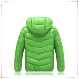OEM обслуживает тип поставкы и тип куртку ткани нейлона бомбардировщика, проложенную куртку куртки вниз на человек 601
