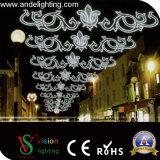 Уличный свет креста мотива рождества СИД