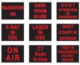 Gebräuchliches LED dunkles Methoden-Zeichen des Röntgenstrahl-
