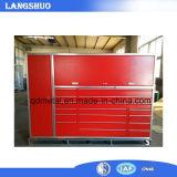 Gabinetes de ferramenta industriais usados do armazenamento do metal/gabinete ajustado caixa de ferramentas de aço da garagem