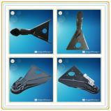 Accoppiatori del un-Blocco per grafici del rimorchio dell'acciaio di getto, accoppiatori saldati del un-Blocco per grafici per il rimorchio