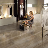 Tintenstrahl Birch Wood Look Ceramic Floor Tiles Polished in China