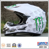 Kühler PUNKT Motorcross Sturzhelm mit Graffiti in der Orange (CR402)