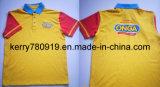 Новая подгонянная рубашка пола тенниски Coverall ткани работы Workwear сетки Pique хлопка 2016 равномерная