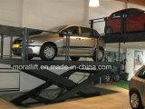 Système automatique de stationnement de véhicule d'ascenseur de levage de ciseaux de la CE
