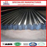 G90 lamiera sottile ondulata del tetto del metallo di Gi del TUFFO caldo ASTM A653m