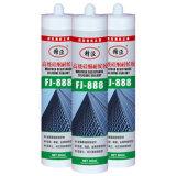 Sellante del silicón para los fregaderos de los lavabos de las duchas de los baños del cuarto de baño de la cocina