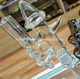 труба водопровода 14mm 18mm женская куря стеклянная с славным шаром улавливателя