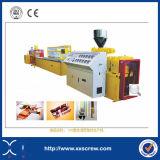 Linha de produção plástica de madeira do PVC