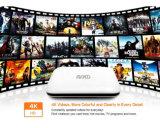 Cadre intelligent androïde X1 de TV avec Rk3128 le WiFi 4k du Quarte-Faisceau 1GB8GB