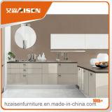 Gabinete de cozinha moderno L da laca do projeto da cozinha estilo