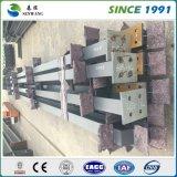 Entrepôt préfabriqué d'atelier de structure métallique avec le bureau