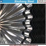 Feuille d'acier galvanisé ondulé laminé à froid pour matériaux de construction