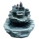 Симпатичный фонтан шифера утки для сада