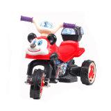 Motocicleta elétrica dos miúdos bonitos com cesta e venda por atacado da música