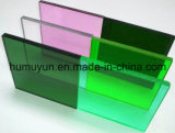 Feuille acrylique à haute brillance 10mm de plexiglass pour la lettre extérieure de panneau indicateur