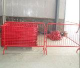 Barriera d'acciaio rivestita di traffico della polvere per gli eventi
