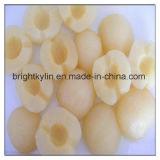 Poires en boîte douces de sirop de lumière de qualité de la Chine