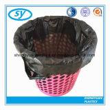 Sac d'ordures biodégradable estampé par couleur du plastique 100%
