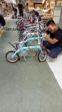 Faltendes Fahrrad, Legierungs-Falz, sondern Geschwindigkeit aus,
