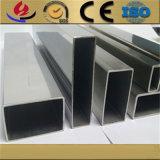 ヘアライン終わり304のステンレス鋼の長方形および正方形の管