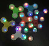 Filatore di vendita caldo della mano del filatore di irrequietezza del giocattolo LED della barretta del Amazon per lo sforzo di autismo di ansia di Adhd
