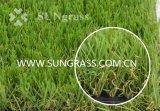 庭(SUNQ-HY00151)のためのマットFinshedの人工的な草