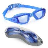 Occhiali di protezione alla moda personalizzati di nuoto del silicone di vetro di nuoto