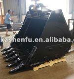 Cubeta 2.8 Cbm da rocha de Sf para a máquina escavadora de Doosan