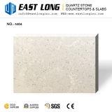 純粋なベージュ水晶石の平板はカウンタートップか設計されたか虚栄心の上または壁パネルのために卸し売りする