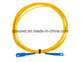 Sc/FC/LC Vezel Optische Patchcord (verbindingsdraad)