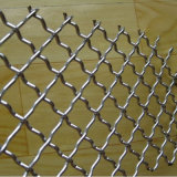 Painel de engranzamento frisado do fio do aço inoxidável para exportar