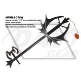 """37.5"""" general 'de la serie Kingdom Hearts' Negro Espada con calabaza"""