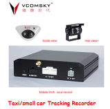 Mobile econômico DVR com Indoor Outdoor Camera, Record Video