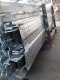 Paquet de marche en acier d'acier de panneau de planche en acier d'échafaudage