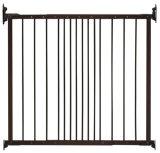 Puerta retractable de la seguridad de la casa de la puerta ajustable de la barrera para el bebé
