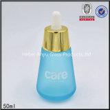 бутылка капельницы косметической бутылки перемещения опарника матированного стекла 30ml 50ml 30g установленная