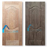 Porta moldada do painel madeira compensada oval com muito barato