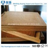 Contre-plaqué commercial d'acajou de pin de bouleau de peuplier de pente des meubles E1 E2