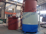 Machine de briquettes de charbon de bois de barbecue à vendre la machine de carbonisation/charbon de bois de biomasse