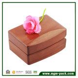 Rectángulo de joyería de madera colorido arriba brillante caliente de la venta