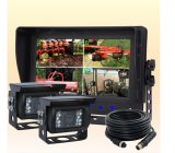 "7 "" Digital IP69k Waterproof Monitor를 가진 차 System"