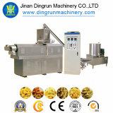 Máquina da extrusora do petisco do sopro das microplaquetas de milho do aço inoxidável, máquina da extrusora do petisco do sopro da alta qualidade