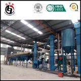 Proyecto activado del carbón de leña fijado en Indonesia