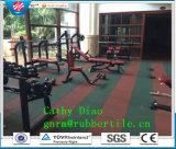 供給の体操のスポーツはゴム製床タイル、屋外の運動場のゴム製タイルまたは連結のゴム製床のマットまたは多彩なゴム製タイルをリサイクルする